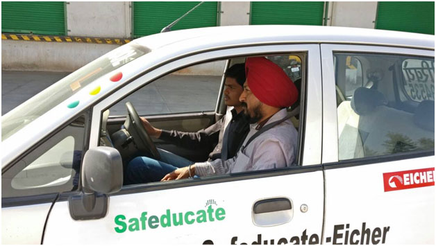 driving training school india