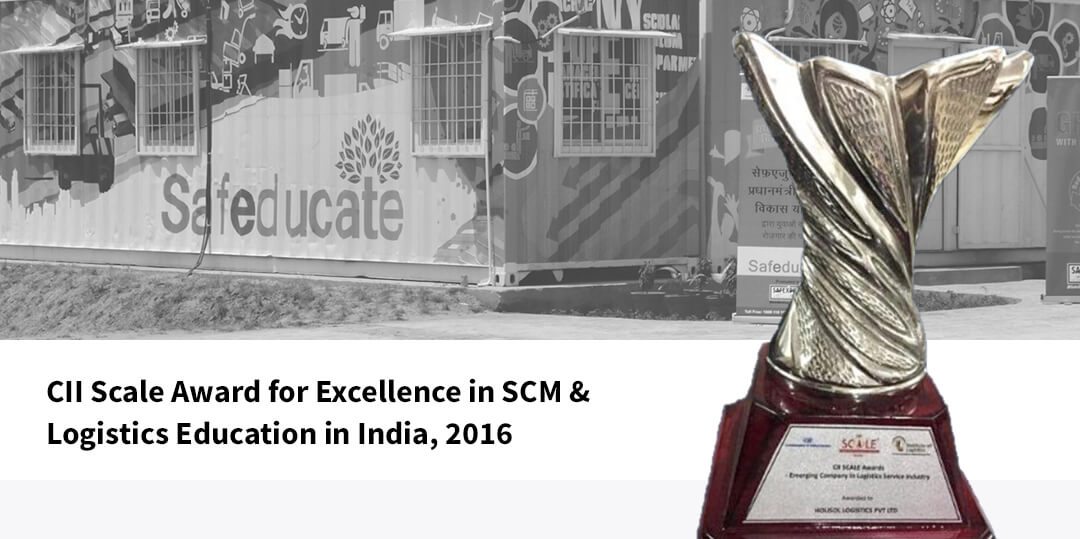 Cll scale award for excellence in SCM & logistics education